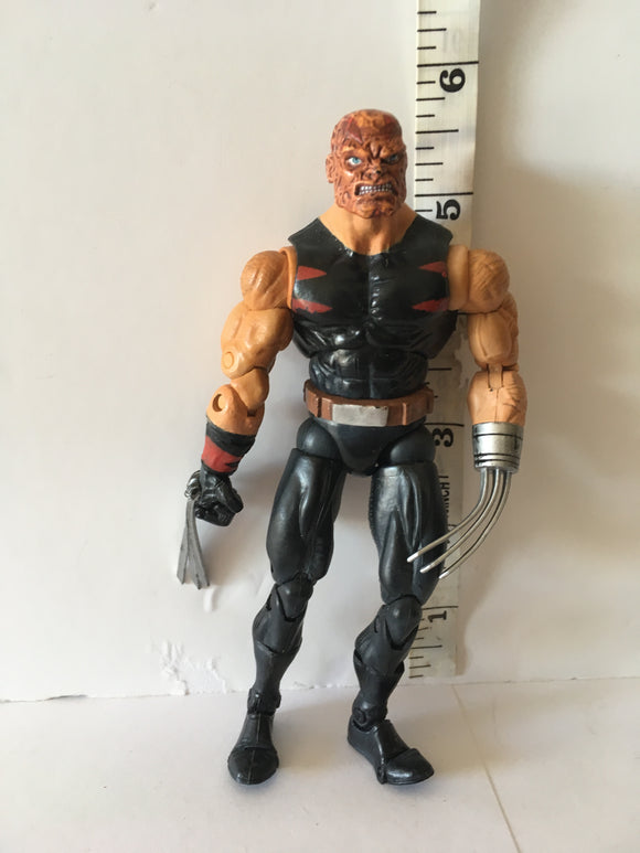 Marvel Legends Toy Biz Weapon X  Age of Apocalypse Giant Man wave Pre Owned Loose Action Figure