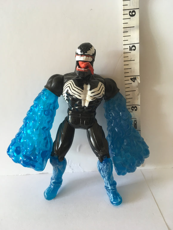 Spider-Man Web Splasher Hydro-Venom Pre Owned Loose Action Figure