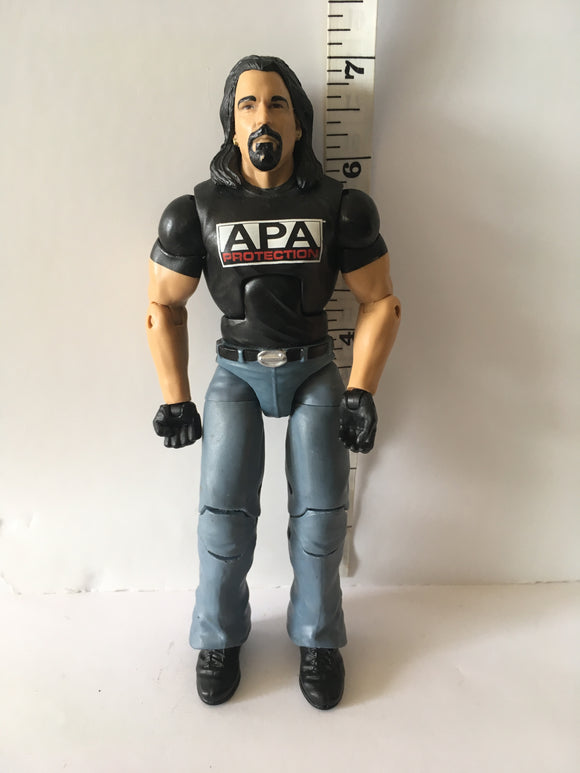 WWE Elite Series 38  Bradshaw Pre Owned Loose Action Figure