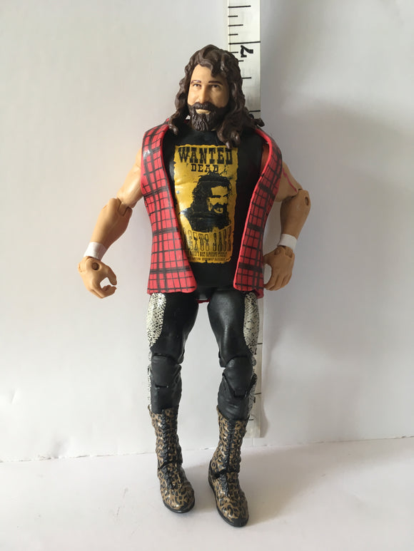 WWE Elite Series 48 Cactus Jack Pre Owned Loose Action Figure