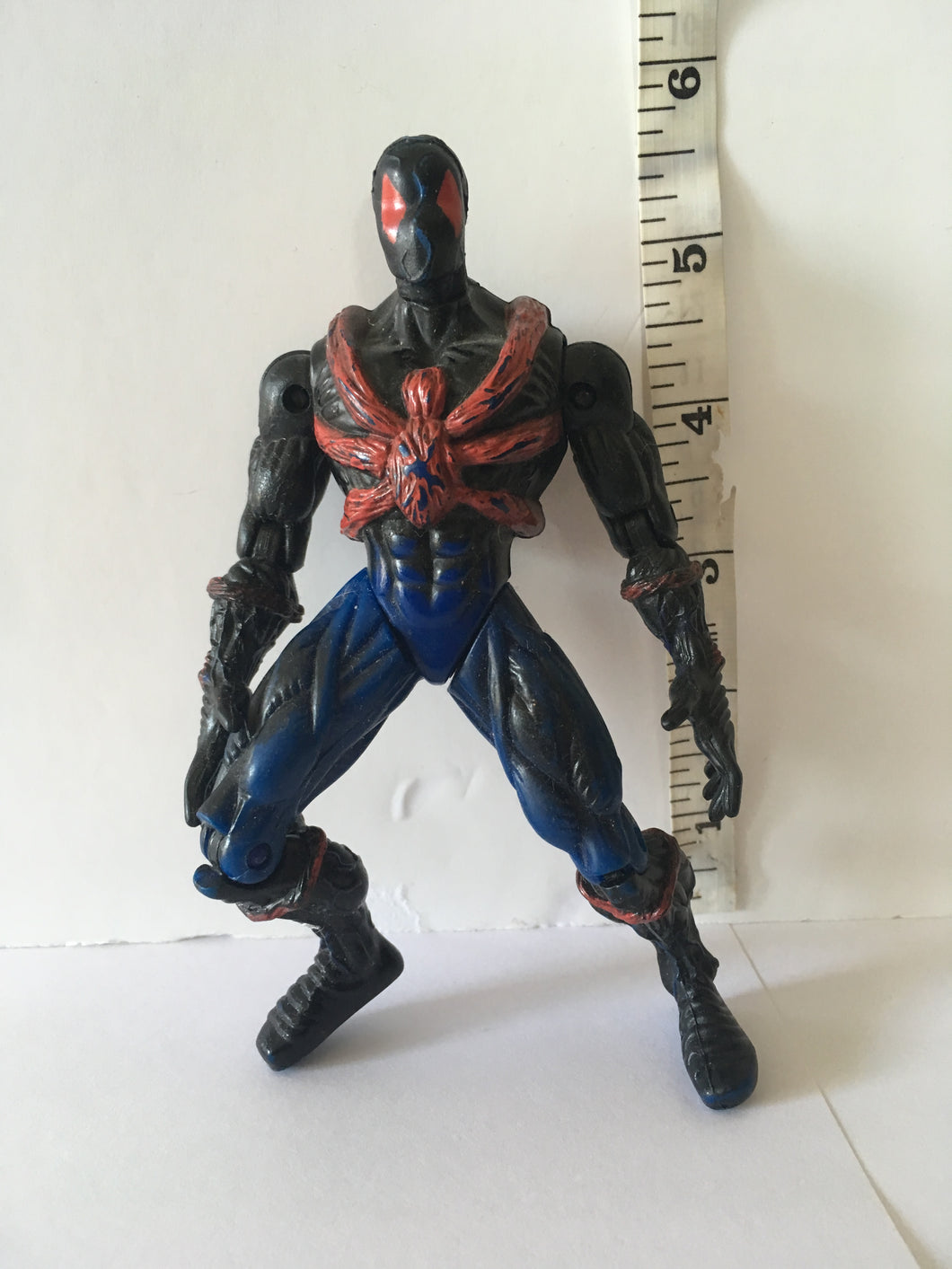 Spider-Man Web Force Swamp Spidey Pre Owned Loose Action Figure