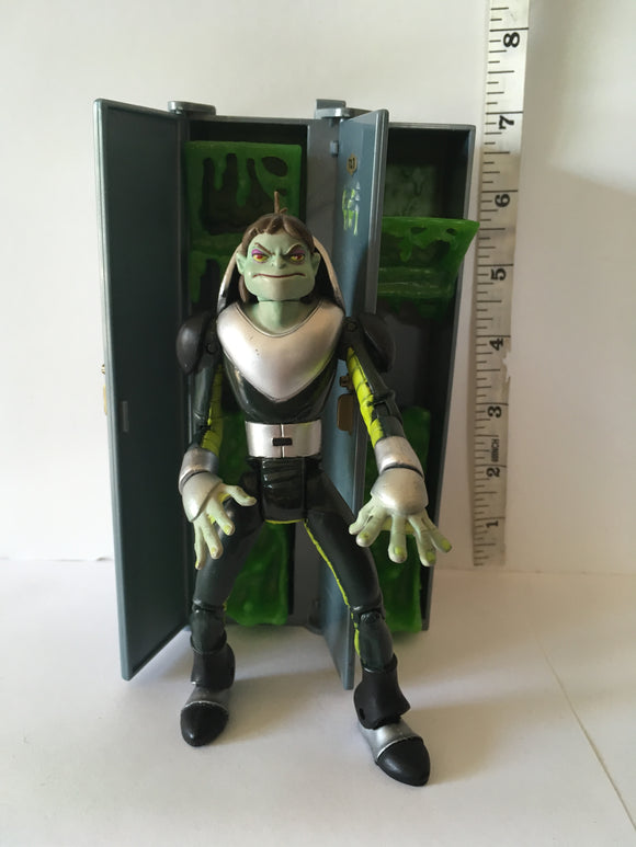 Marvel X-Men Evolution Toad with Slime Attack Locker Pre Owned Loose Action Figure