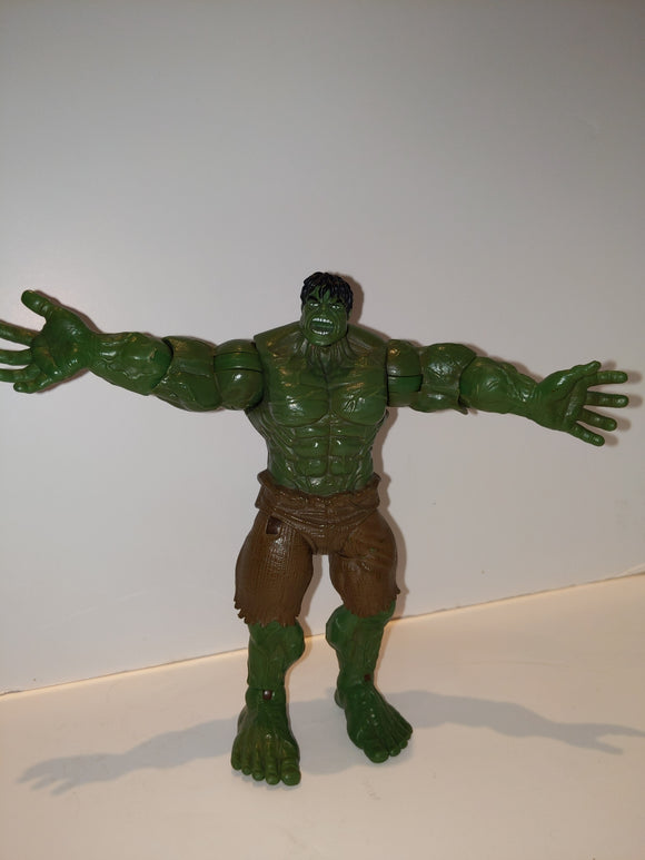The Hulk Movie Mega Clap pre Owned Loose Action Figure