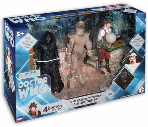 The Keeper of Traken Collectors Set From Dr Who