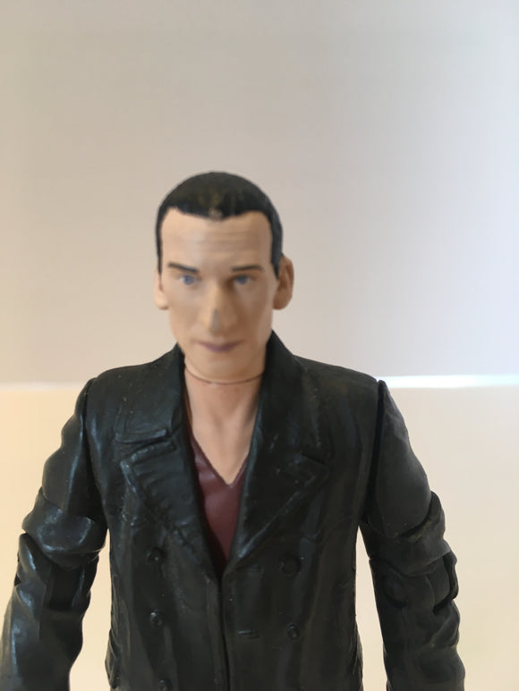 Doctor who Christopher Eccleston 9th Doctor pre Owned Loose Action Figure