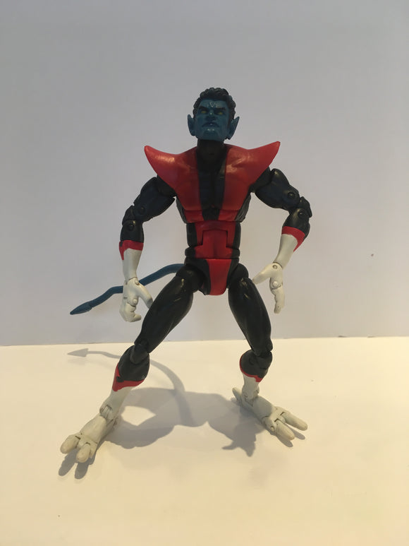 Marvel Legends Galactus wave Nightcrawler Pre Owned Loose Action Figure