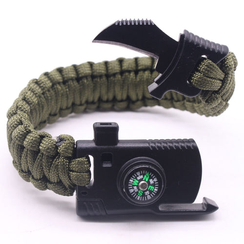 Multifunktionelles Survival Armband