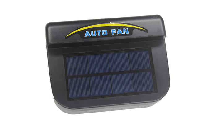 Solar Power Auto Fan