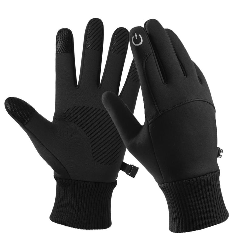 Thermal touchscreen gloves