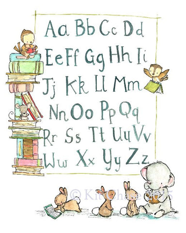alphabet friends