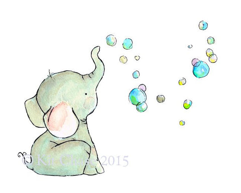 elephant bubbles