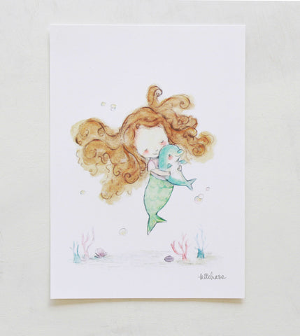 mermaid giclée