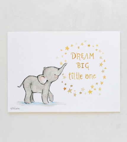 dream big giclee