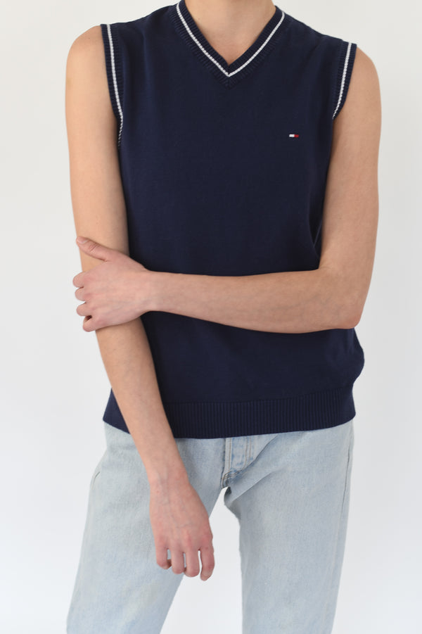 Cropped Light Blue Tank Top