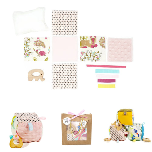 Kit Couture Cube d'Eveil Rose
