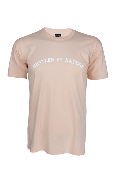 Hustler By Nature Salmon T shirt