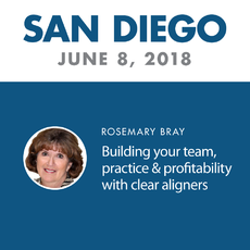 Workshop: San Diego, CA - Building your team, practice and profitability with clear aligners