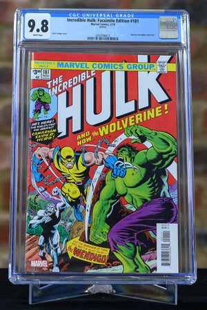 Incredible Hulk: Facsimile Edition #181 9.8