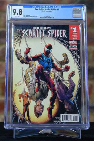 Ben Reilly: Scarlet Spider #1 9.8