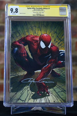 Spider-Man: Facsimile Edition #1 (Virgin Edition) 9.8
