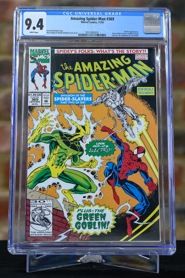 Amazing Spider-Man #369 9.4