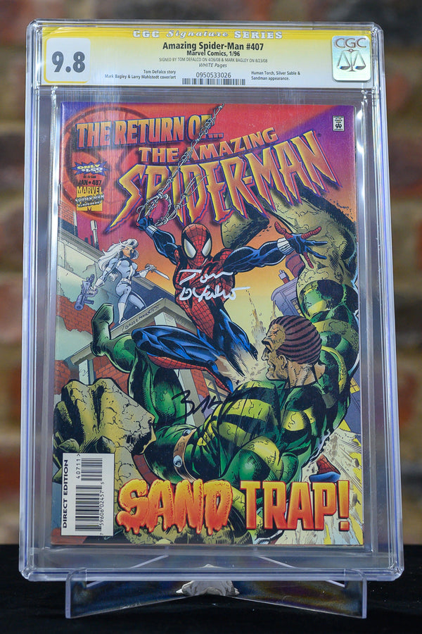 Amazing Spider-Man #407 9.8