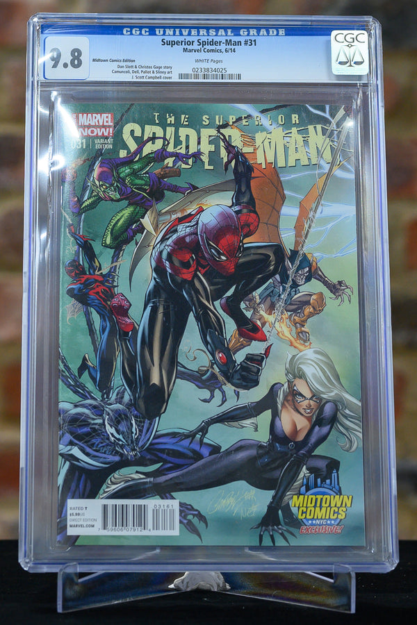 Superior Spider-Man #31 9.8