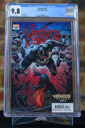 Venom #28 9.8 - Slight crack