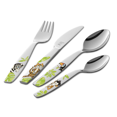 Twin - Kids Cutlery Set (Jungle)