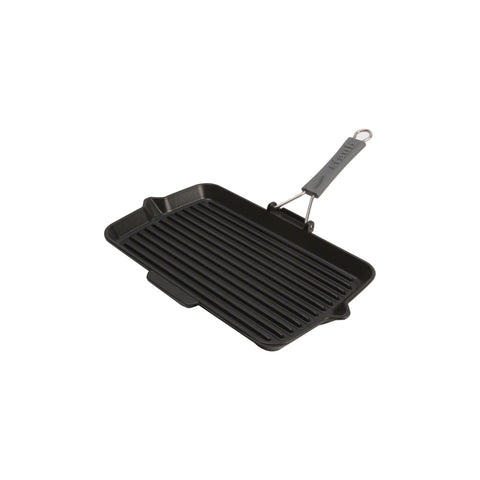 Staub Cast Iron Grill w Detachable Handle