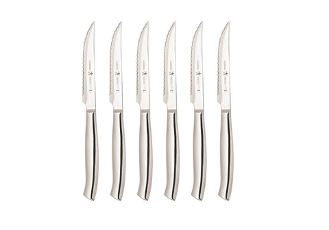 Zwilling - Premium Stainless Steel Steak Knives – Set of 6