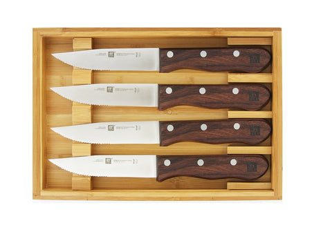 Zwilling Steakhouse 4 pc Steak Set Box