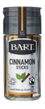 Bart Blend Cinnamon Sticks 10g