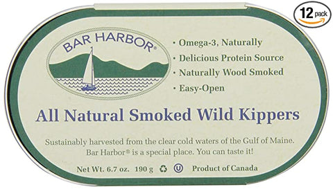 Bar Harbor Smoked Wild Kippered Herring
