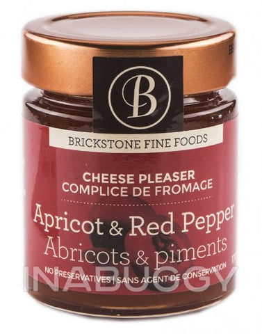 Brickstone Foods Apricot & Red Pepper Spread 170g