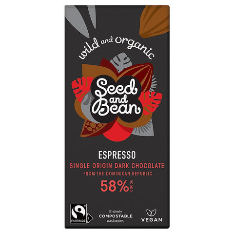 Seed and Bean - Chocolate Bar Espresso 58%  85g