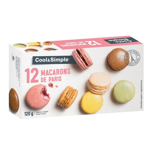Cool & Simple 12 Macarons de Paris 120g
