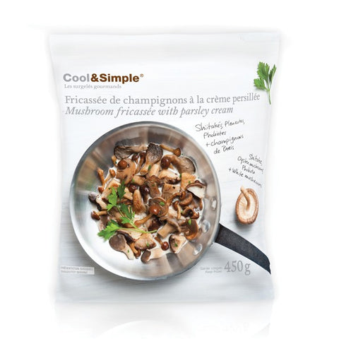 Cool & Simple Mushroom Fricassee 450g