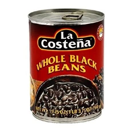 La Costena Beans Black Whole