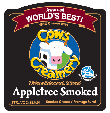 Cow's Smoked Cheddar- Raw Cow Milk - PEI  - 150g