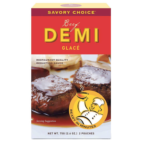 Savory Choice - Demi-Glace Beef 4 pouches