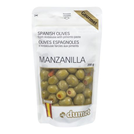Dumet Olives - Spanish With Pimento Manzanilla 150gr
