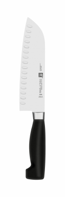 Four Star® Santoku Granton Knife 7""