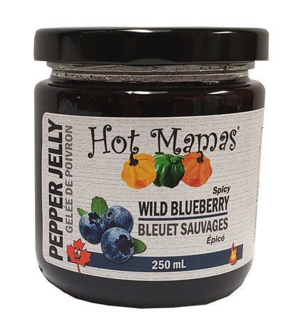 Hot Mamas – Jelly – Wild Blueberry Pepper – 250ml