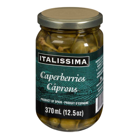 Italissima Capers- Spanish 370ml caperberries