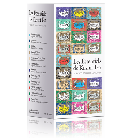 Kusmi Tea Essentials 24 assorted bags