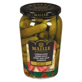 Maille - Pickles - Gherkin Sweet & Sour - 375ml