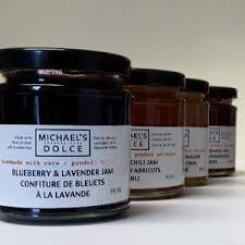 Michael's Dolce Jam - Blueberry & Lavender 190ml