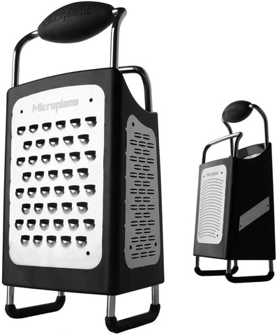 Microplane - Box Grater - 4 Sided - Black