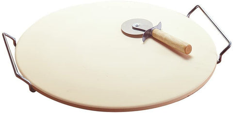 Multichef - Pizza Stone - With Rack and Cutter